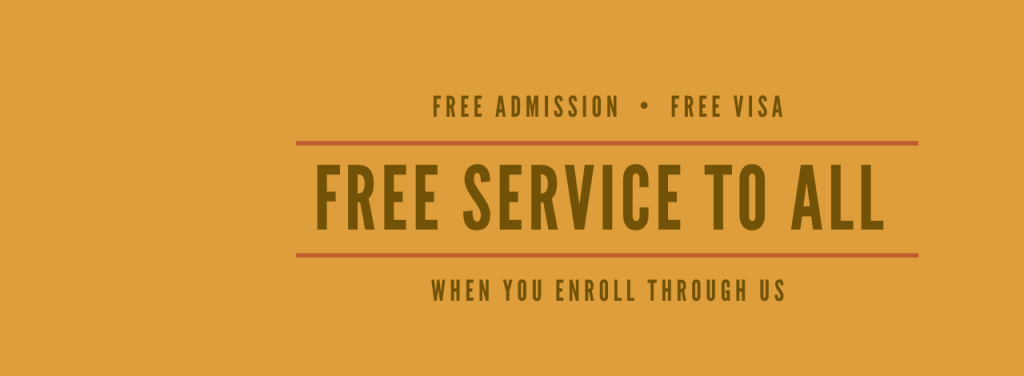 Free Education consultancy Services
